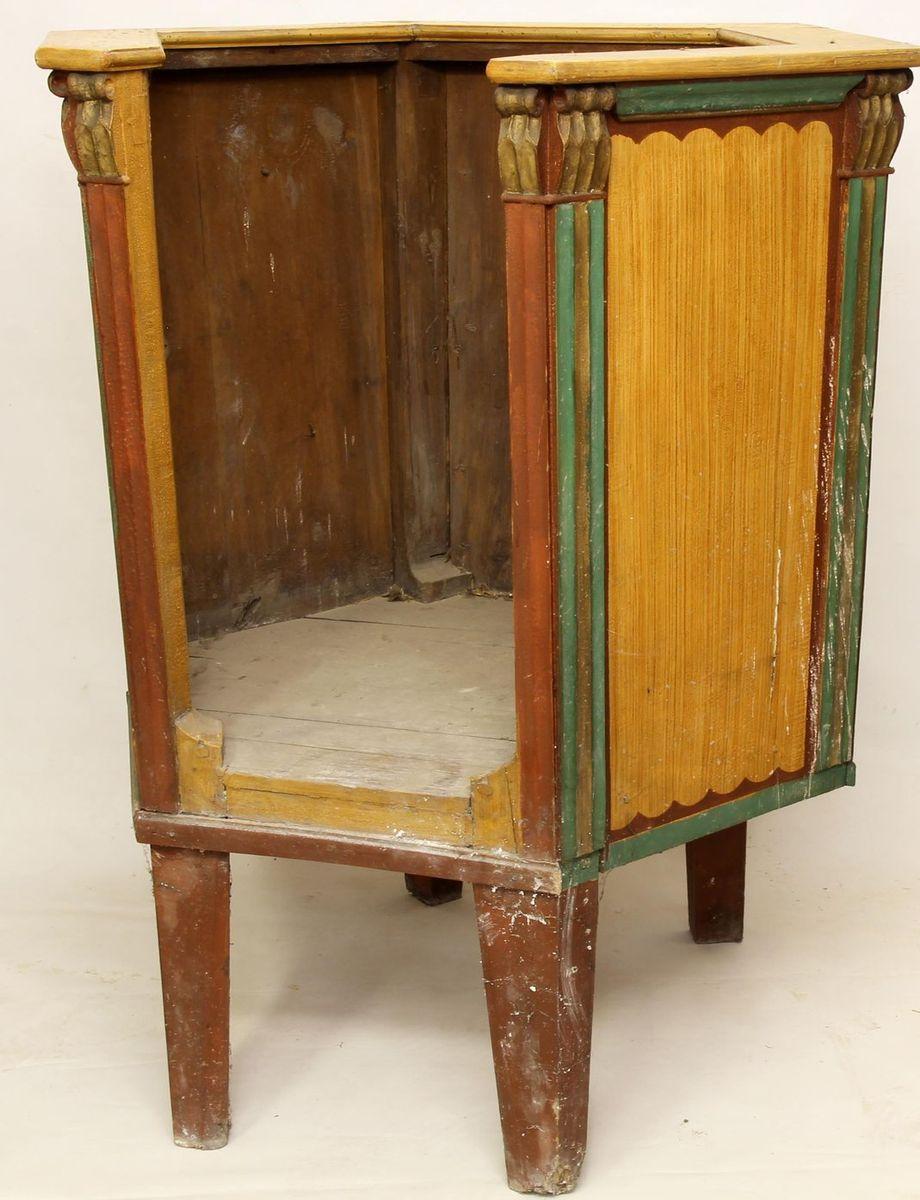 Restaurování dřevěných částí kostelního inventáře restaurování kazatelny 01
