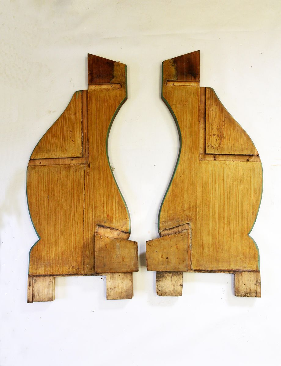 Restaurování dřevěných částí kostelního inventáře restaurování kazatelny 03