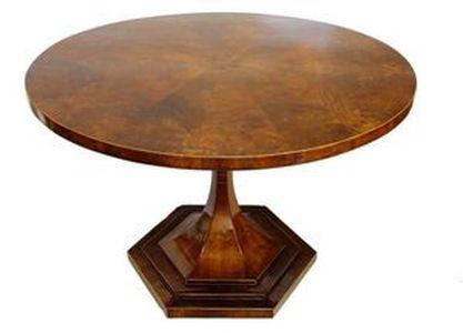 Restaurování nábytku v Praze - opravy starého nábytku - Jídelní-stůl-Art-Deco-